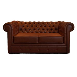 GK Furniture - Leather Sofa