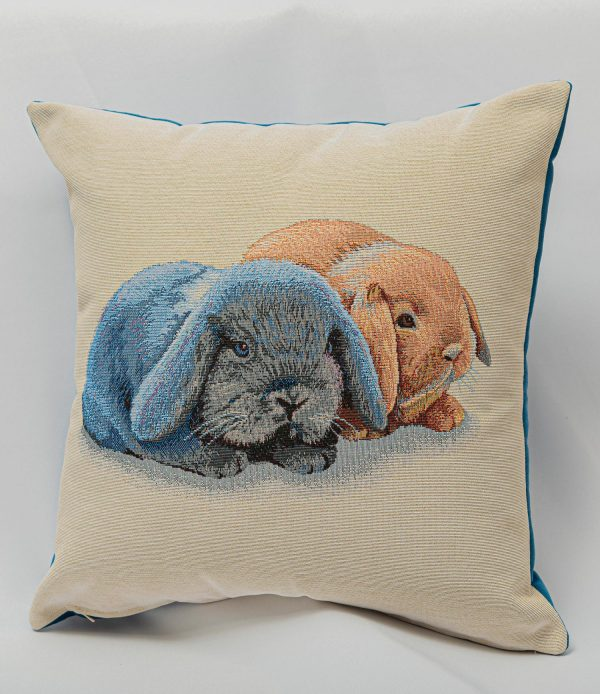 GK Furniture - Cushion, Bunnies pattern