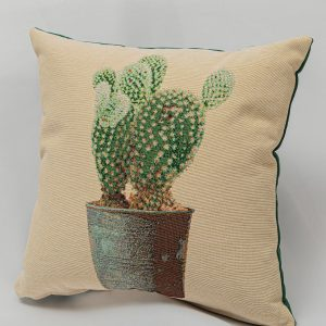 GK Furniture - Cushion, Cactus in Brown Pot