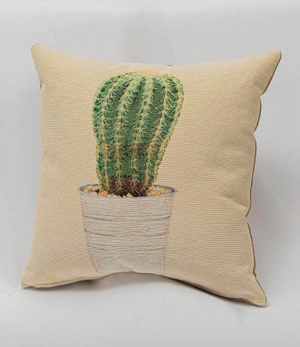 GK Furniture - Cushion, Cactus in Pot