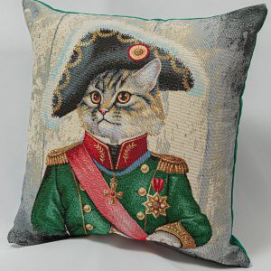GK Furniture - Cushion, Cat the Commander