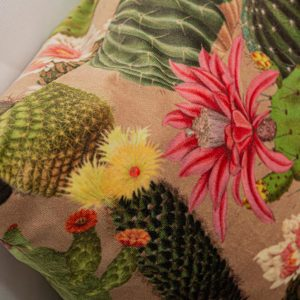 GK Furniture - Cushion, Colorful Flowers