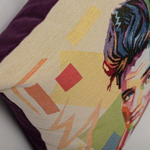 GK Furniture - Cushion, Elvis Presley pattern