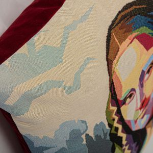 GK Furniture - Cushion, Mona Lisa pattern